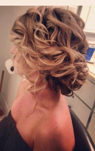 Prom Hair?! If It Was More To The Side | Prom | Bridesmaid Hair Intended For Side Bun Prom Hairstyles With Soft Curls (View 10 of 25)