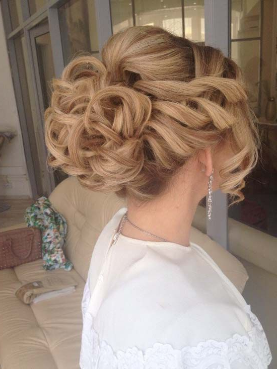 Prom Hairstyles: 15 Utterly Amazing Hairstyles For Prom Within Gorgeous Waved Prom Updos For Long Hair (View 13 of 25)
