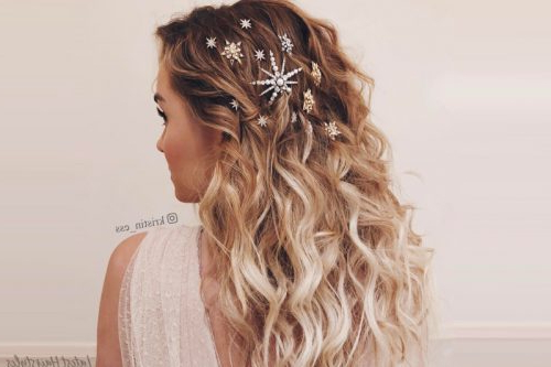 Prom Hairstyles 2019: Here Are The Best Ideas! Within Gorgeous Waved Prom Updos For Long Hair (View 10 of 25)