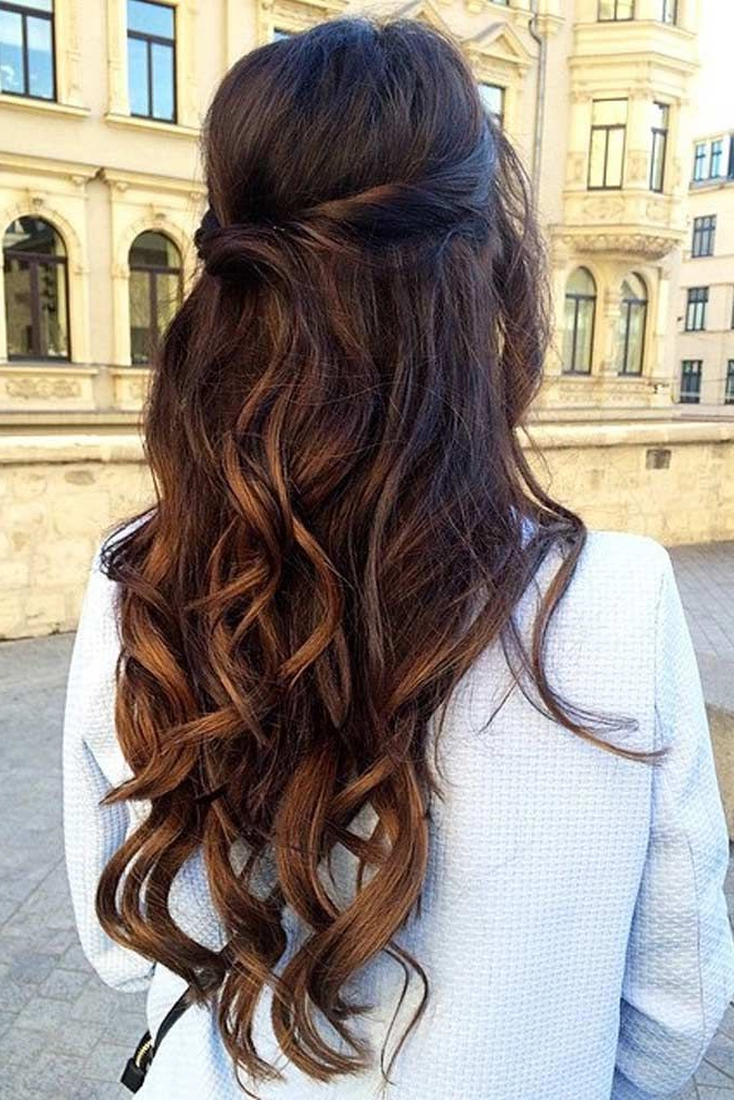Prom Hairstyles For Long Hair Trending In 2019 With Cascading Waves Prom Hairstyles For Long Hair (View 20 of 25)