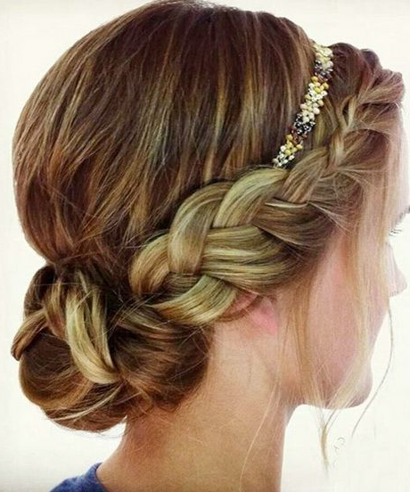 Prom Hairstyles With Headband | Hair Styles | Hair Styles, Prom Hair In Teased Prom Updos With Cute Headband (View 3 of 25)