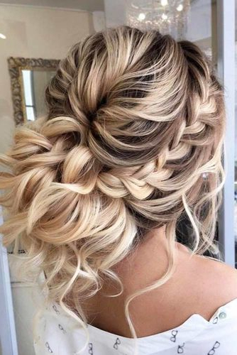 Prom Updos With Braid: Braided Prom Hairstyles | Ladylife Throughout Messy Braided Prom Updos (View 25 of 25)