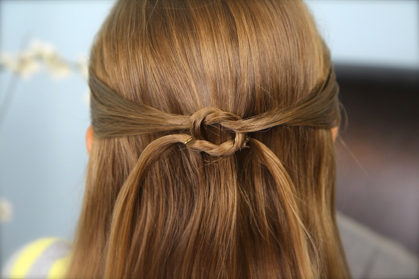 Pullbacks Into Square Knot | Daddy 'do Hairstyles | Cute Girls Regarding Long Hairstyles Knot (View 15 of 25)