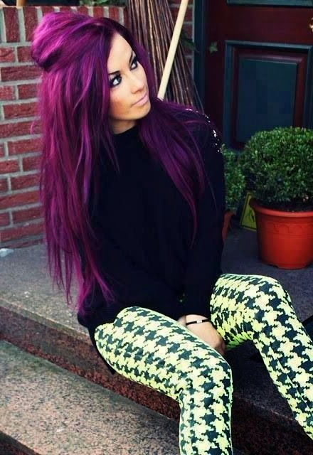 Purple Hairstyles These 50 Cute Purple Shade Hairstyles You Cant Inside Purple Long Hairstyles (View 24 of 25)