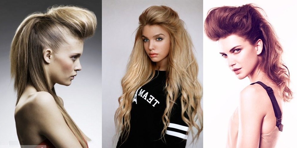 Quiff Hair For Women – In Womens Long Quiff Hairstyles (Gallery 1 of 25)