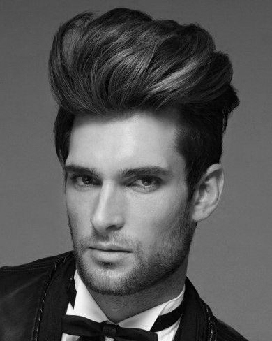 Quiff Haircut For Men – 40 Manly Voluminous Hairstyles With Regard To Hairstyles Quiff Long Hair (View 17 of 25)