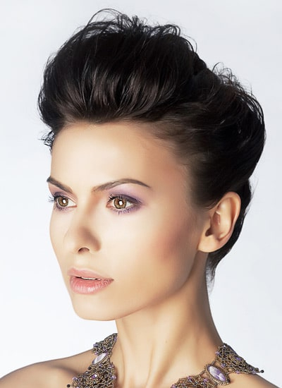 Quiff Hairstyles For Women Within Womens Long Quiff Hairstyles (Gallery 3 of 25)