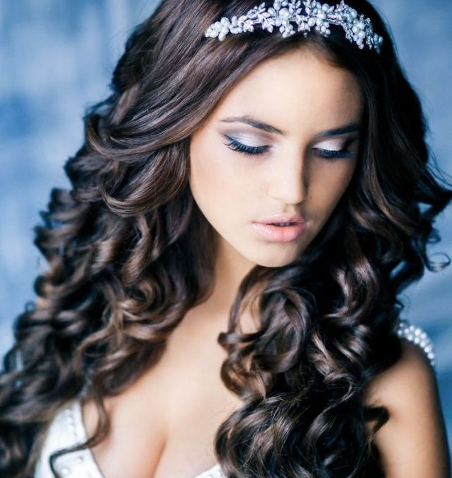 Quinceañera Hairstyles – Comb Your Path From The Girl To The Woman Regarding Long Quinceanera Hairstyles (Gallery 15 of 25)