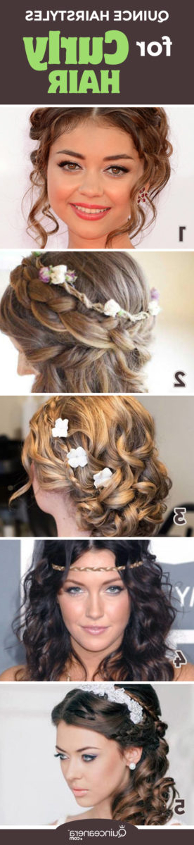 Quinceanera Hairstyles For Curly Hair – Quinceanera With Long Curly Quinceanera Hairstyles (Gallery 22 of 25)