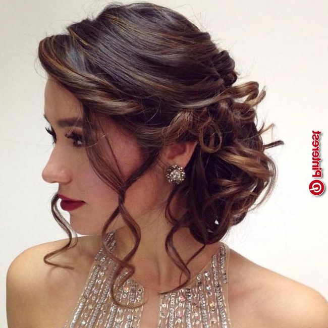Quinceanera Hairstyles For Short Hair #hairstyles Intended For Long Hair Quinceanera Hairstyles (View 14 of 25)