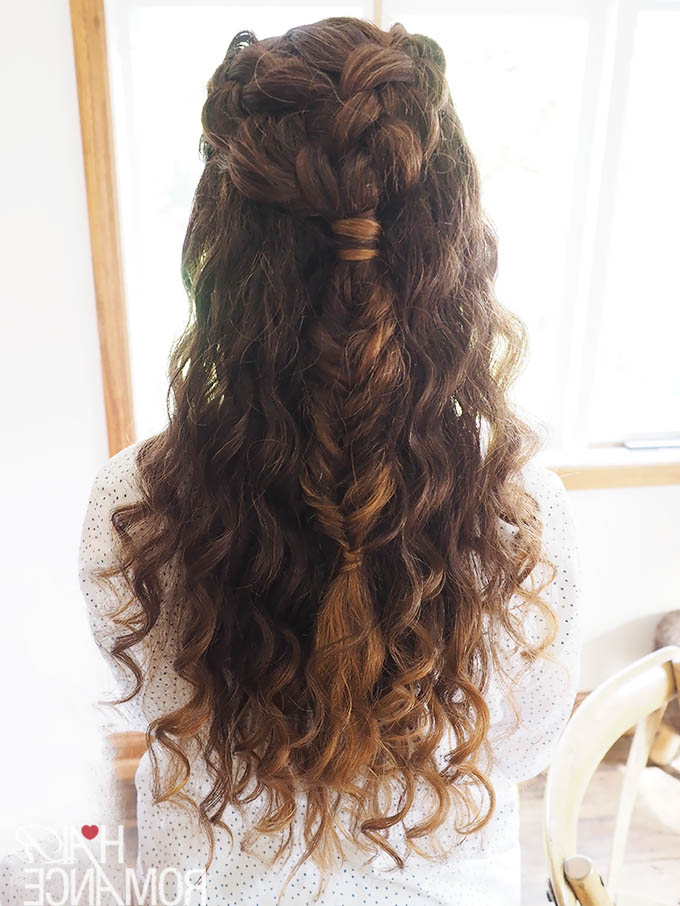 Real Wedding Hair Inspiration – Curly Hair Bride – Hair Romance With Long Curly Hairstyles For Wedding (View 11 of 25)