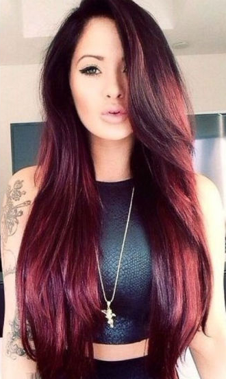 Red Hairstyles – Hair Color, Hair Color Ideas, Red Hair Color With Long Hairstyles For Red Hair (View 8 of 25)