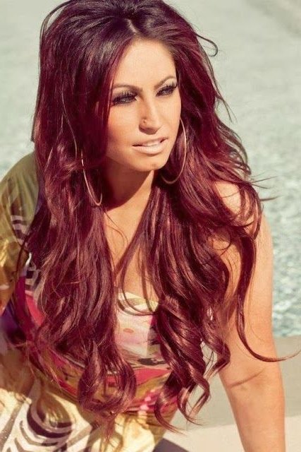 Red Hairstyles, Long Red Hair And Vibrant Red Hair – 101 Hairstyles Throughout Long Hairstyles For Red Hair (View 6 of 25)