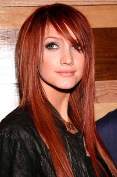 Redheads, The Best Haircut For Your Shape Face Inside Long Hairstyles Redheads (View 6 of 25)