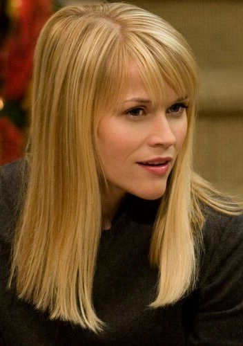 Reese Witherspoon All One Length Long Hair | Hair Goals | One Length Intended For One Length Long Haircuts (View 16 of 25)