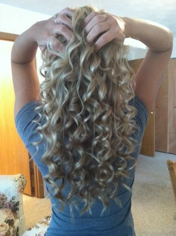 Retro, Stacked, Spiral Perm Hairstyles And Other Quirky Ideas Within Long Hairstyles Permed Hair (View 11 of 25)
