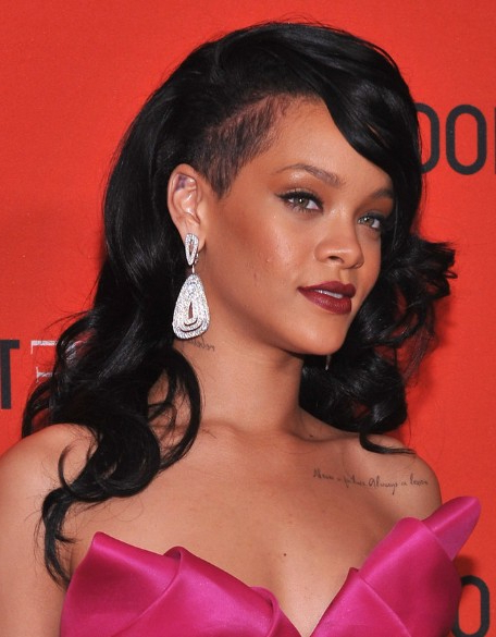 Rihanna Black, Curly, Long Hairstyles 2013 – Popular Haircuts With Long Hairstyles Rihanna (View 11 of 25)