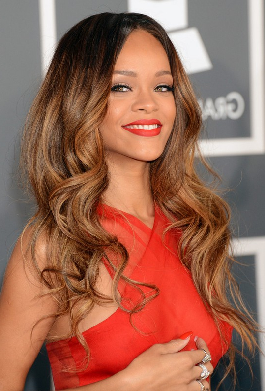 Rihanna Hairstyles – Celebrity Latest Hairstyles 2016 For Long Hairstyles Rihanna (View 9 of 25)