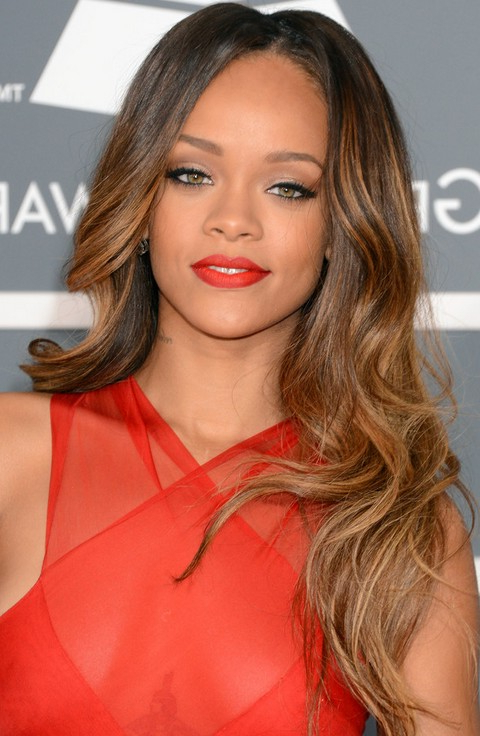Rihanna Hairstyles Gallery – 28 Rihanna Hair Pictures – Pretty Designs For Rihanna Long Hairstyles (View 7 of 25)