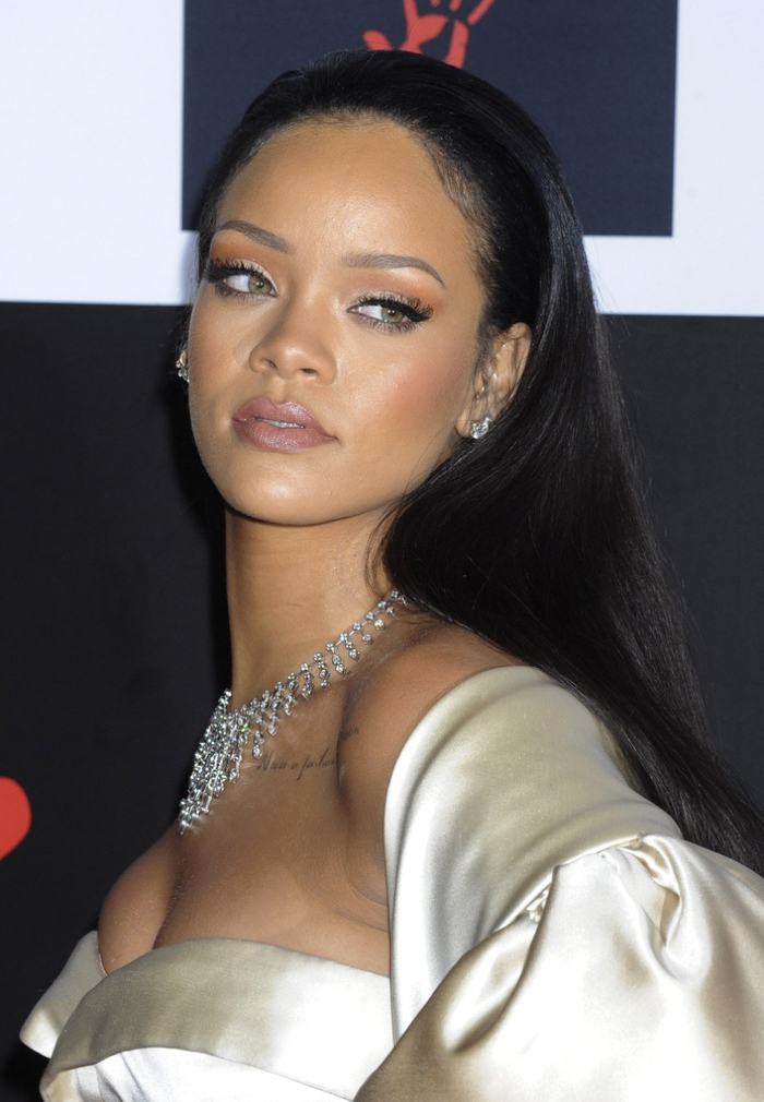 Rihanna Hairstyles: Photos Of Rihanna's Best Hair Moments | Fashion Inside Long Hairstyles Rihanna (View 8 of 25)