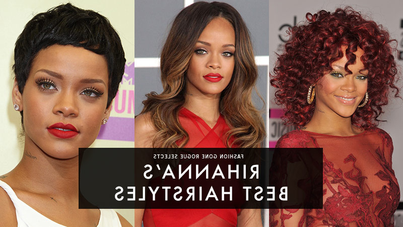 Rihanna Hairstyles: Photos Of Rihanna's Best Hair Moments | Fashion With Regard To Long Hairstyles Rihanna (View 25 of 25)