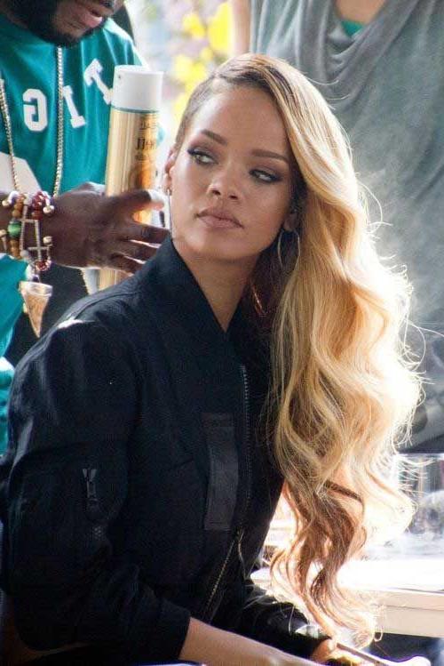 Rihanna's Long Hairstyles All Ladies Should See #hairstyles #ladies With Regard To Long Hairstyles Rihanna (View 23 of 25)
