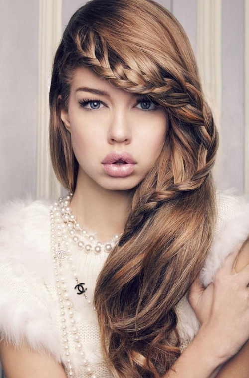 Risks Following Hairstyles For Girls With Long Hair Intended For Long Hairstyles For Girls (View 8 of 25)