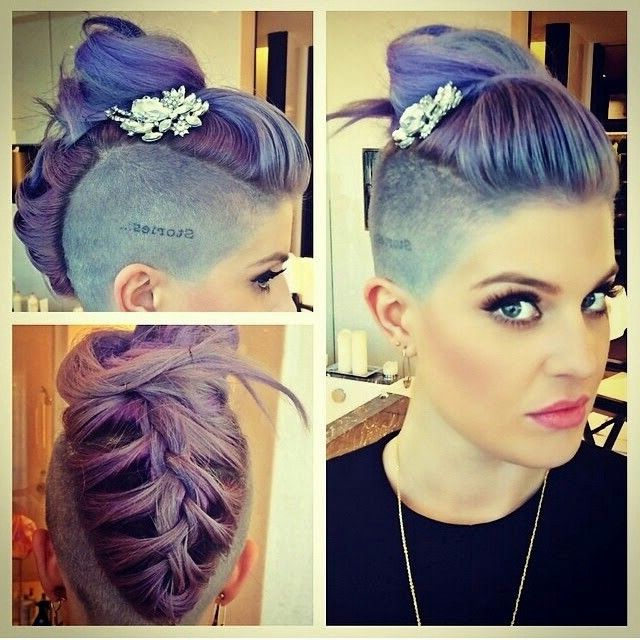 Romain Gassiot (Romaingassiot) On Pinterest For Shaved Side Prom Hairstyles (View 12 of 25)