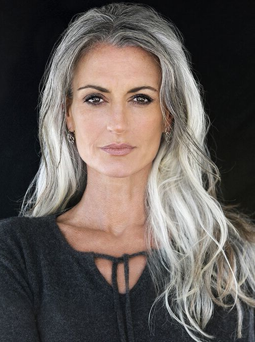 Sam Gold | Silvers In 2019 | Hair, Long Gray Hair, Grey Hair Regarding Long Hairstyles For Gray Hair (View 2 of 25)