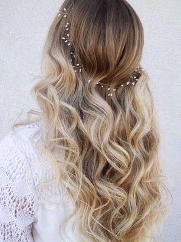 Seriously Stunning Mermaid Waves Hairstyles In 2019   Wedding Throughout Charming Waves And Curls Prom Hairstyles (View 9 of 25)