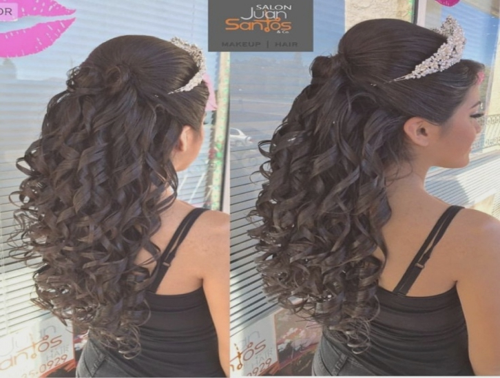 Seven Facts About Curly Hairstyles For Quinceaneras That Will Blow In Long Curly Quinceanera Hairstyles (View 13 of 25)