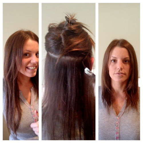 Sexy, Easy New Year's Eve Hairstyle: Clip In Extensions (Photos Within Long Hairstyles Extensions (View 18 of 25)