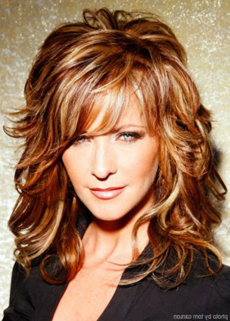 Featured Photo of Long Hair Shaggy Layers Hairstyles