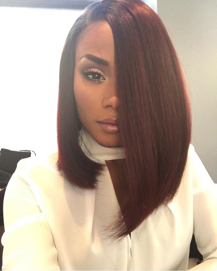 Shannonjthornton | Hairstyle Inspiration | Long Hair Styles, Curly Within Long Bob Hairstyles With Weave (View 2 of 25)