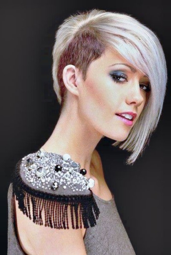 Shaved Hairstyles For Women – Hairstyles Intended For Shaved And Long Hairstyles (View 13 of 25)