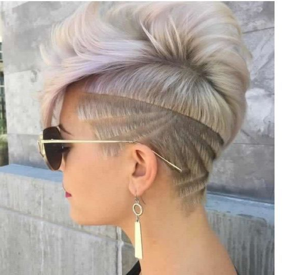 Shaved Hairstyles For Women: Top 10 For 2018 | 99 Cent Razor Pertaining To Shaved And Long Hairstyles (View 19 of 25)