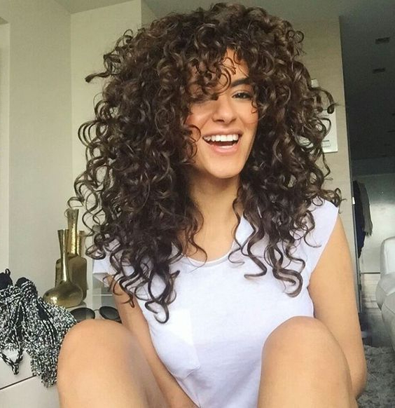 Short And Long Layered Curly Hairstyles Intended For Long Curly Layers Hairstyles (View 22 of 25)