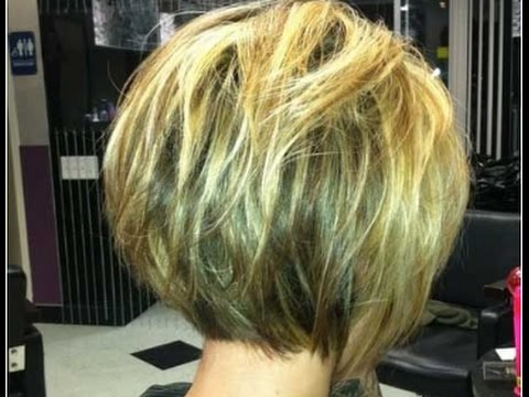 Short Bob Hairstyles For Fine Hair Back View – Youtube With Regard To Long Hairstyles Back View (View 15 of 25)