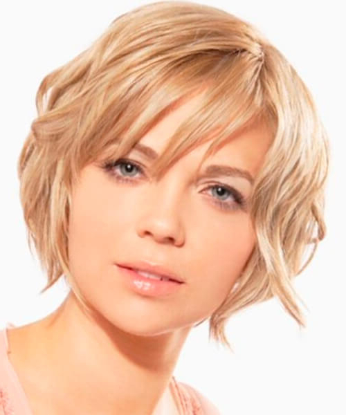 Short Haircuts For Thick Hair And Oval Faces – Haircuts For All Inside Long Haircuts For Oval Faces And Thick Hair (View 9 of 25)
