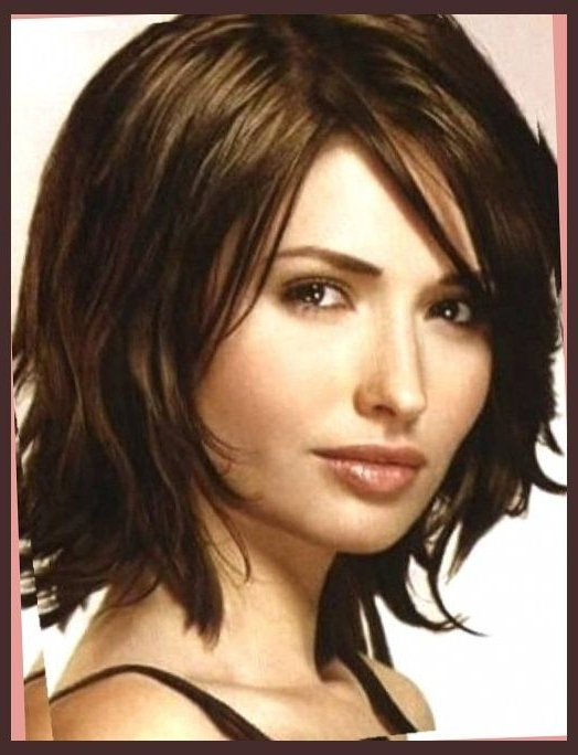 Short Hairstyles For Round Faces Double Chin – Short Haircuts For Pertaining To Long Hairstyles For Fat Faces And Double Chins (View 16 of 25)