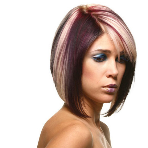 Short Hairstyles For Thick Hair Round Face In Long Hairstyles For Thick Hair And Round Faces (View 20 of 25)