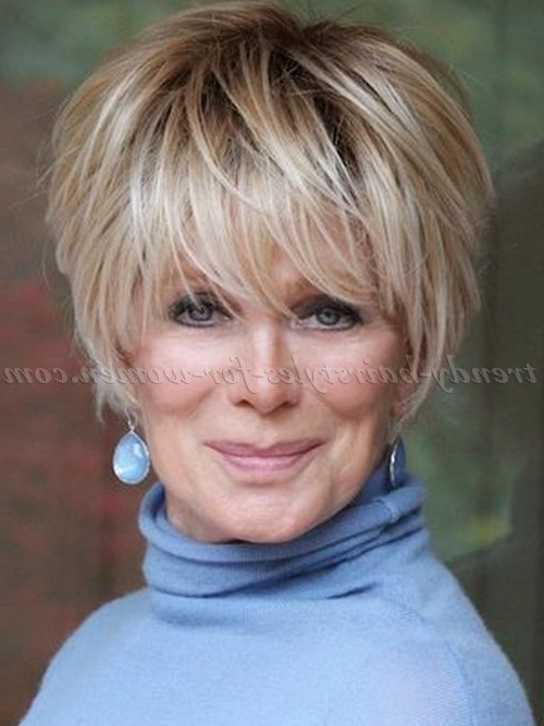 Short Hairstyles For Women Over 60 Years Old With Fine Hair For Long Hairstyles For Women Over (View 19 of 25)