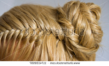 Shutterstock – Puzzlepix Throughout Braid Spikelet Prom Hairstyles (View 16 of 25)