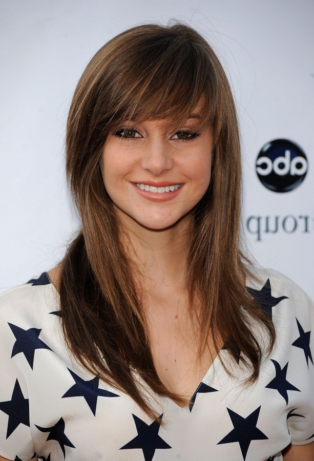 Side Swept Bangs For A Square Face – Women Hairstyles With Regard To Long Hairstyles For Square Faces With Bangs (View 11 of 25)