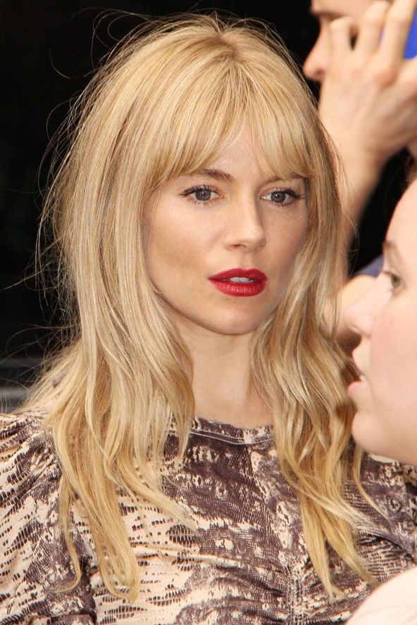 Sienna Miller: Hair Style File | Hair | Hair Styles, Sienna Miller Throughout Long Hairstyles Vogue (View 18 of 25)