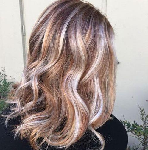 Silver Hair Copper Highlights | Hair In 2019 | Hair Styles 2016 With Loose Layers Hairstyles With Silver Highlights (View 4 of 25)