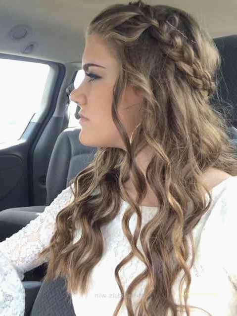 Simple Prom Hairstyles Lovely Updos For Long Hair Prom Short Hair Intended For Easy Curled Prom Updos (View 12 of 25)