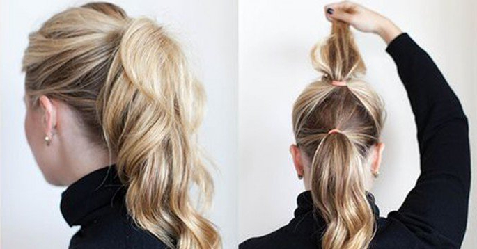 Simple Styles For Long Hair That Don't Take A Long Time | 22 Words In Long Hairstyles Put Hair Up (View 21 of 25)