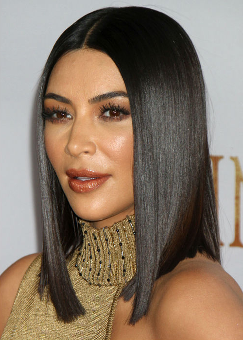 Sizzling Celebrity Blunt Bob Hairstyles For Women To Steal From Kim Throughout Long Bob Hairstyles Kim Kardashian (View 12 of 25)