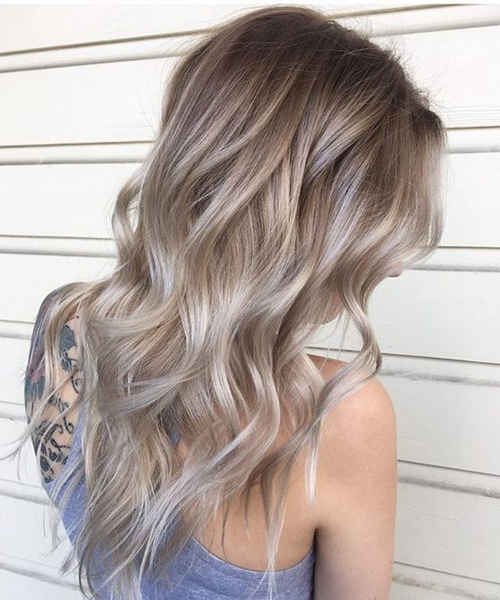 Slightly Dark Ombre Long Layered Hairstyles 2018 For Women To Look With Layered Ombre For Long Hairstyles (View 21 of 25)